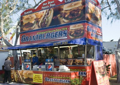 Grantburgers Concession Graphic