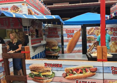 C&C Chip & Burger Stand - Ad America Wrap