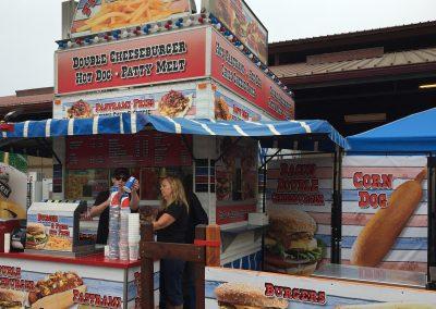 C&C Chip & Burger Stand - Ad America Wrap