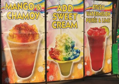 Shaved Ice - Ad America Panels
