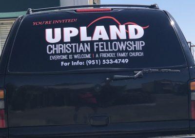 Upland-Christian-Fellowship-car-sign