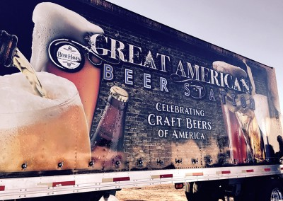 Beer Truck - No Skirt - Ad America Wrap