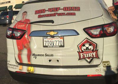 Fury Car Wrap