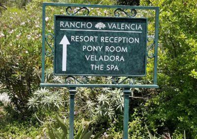 rancho-valencia-sign
