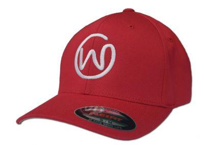 red-w-hat-side