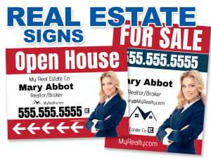 Real Estate Signs & Inserts