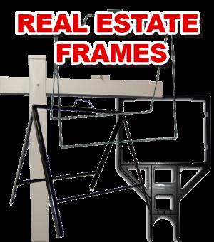 Real Estate Posts & Frames